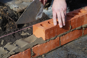 Bricklayers and small builders crucial to industry success